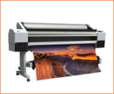 Poster being Printed Image